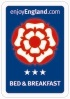 Visit Britain 3 Stars Bed & Breakfast