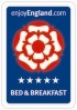 Visit Britain 5 Stars Bed & Breakfast